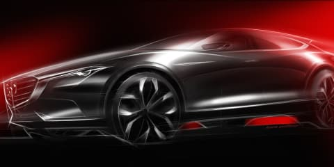Mazda Koeru SUV concept teased : Mysterious potential 'CX-4' crossover in the works