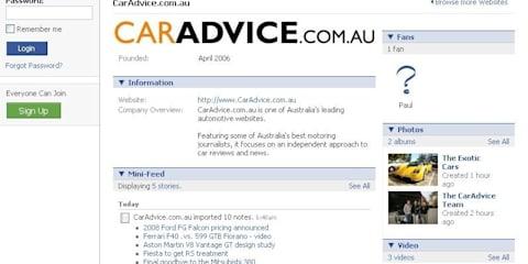 CarAdvice goes high-tech on Facebook