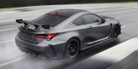 Lexus RC F Track Edition pricing revealed for Australia
