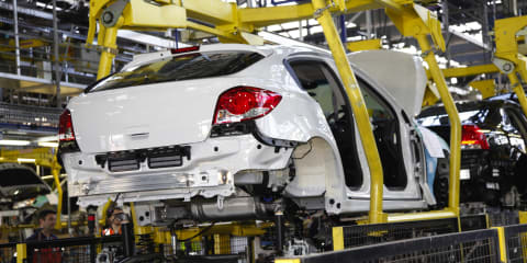 Holden to announce reduced production shift
