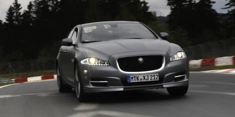 Jaguar XJ Supersport Nurburgring taxi