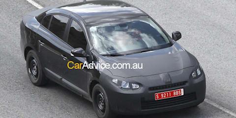 Spied: 2010 Renault Megane sedan