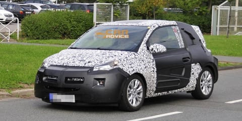 2013 Opel Allegra spy shots