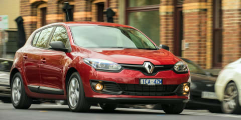 2014 Renault Megane pricing and specifications
