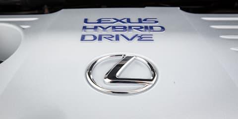 Lexus Australia hybrid sales on a roll