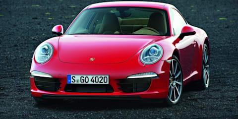 2012 Porsche 911 images leaked