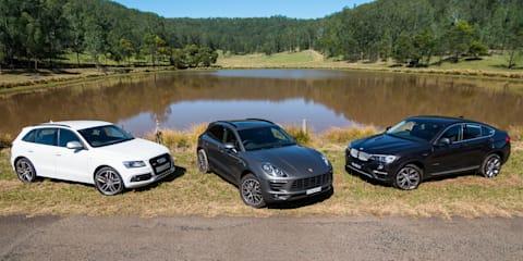 Audi SQ5 v BMW X4 30d v Porsche Macan S Diesel : Comparison review