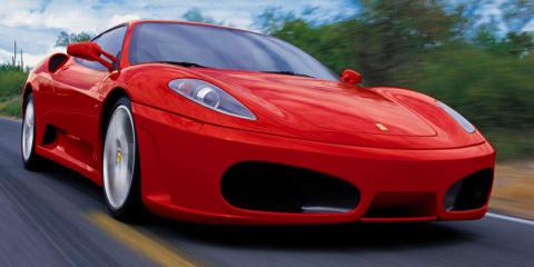 Police charge father over nine-year-old son's Ferrari joy ride
