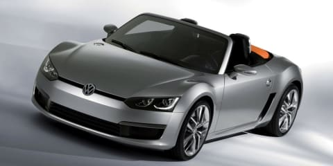 Volkswagen BlueSport: two-seater roadster still alive