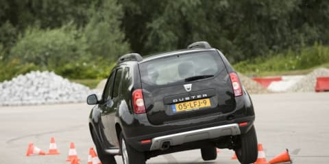 Video: Dacia Duster subjected to vigorous testing