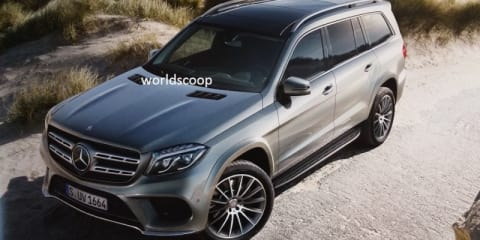 2016 Mercedes-Benz GLS revealed in leaked images