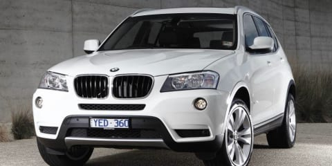 BMW X3 xDrive28i: four-cylinder turbo SUV here in May