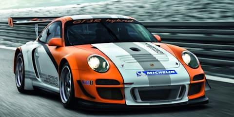 2010 Porsche 911 GT3 R Hybrid revealed