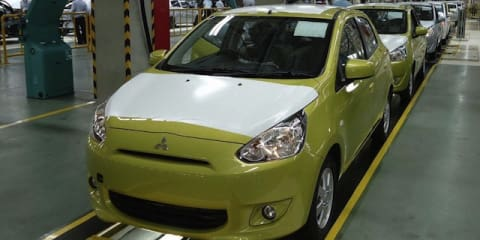 Mitsubishi Mirage production begins
