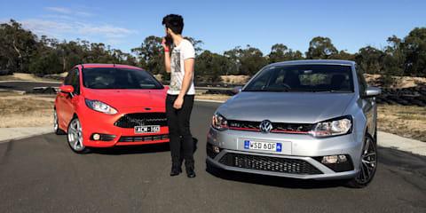 Ford Fiesta ST v Volkswagen Polo GTI Comparison Review