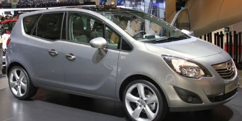 Opel Meriva revealed at Geneva complete with suicide doors