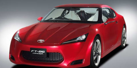 Toyota FT-86 Concept - Toybaru Sports Car