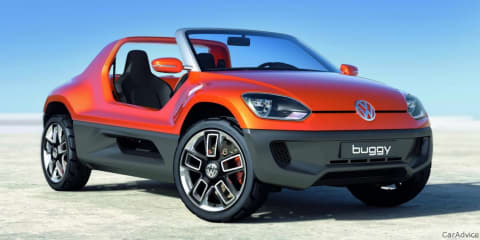 Volkswagen Buggy Up! Concept at Frankfurt Motor Show