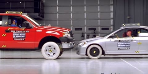 Newer SUVs less dangerous to other cars in crashes: study