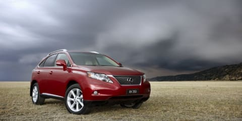 Lexus sells its 15,000th RX in Australia