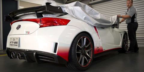 Toyota FT-86G Sports Concept arrives