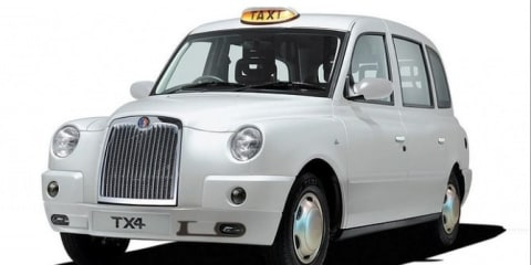 London black cabs land in Australia