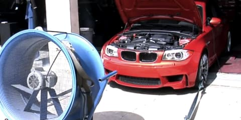 Video: BMW 1 M Coupe makes 247kW at the wheels