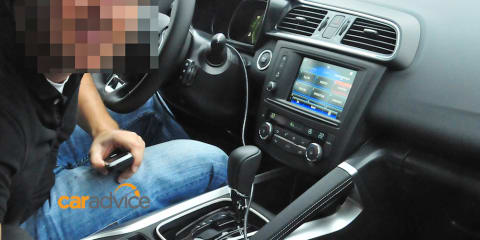 2016 Renault Koleos successor spied, including first look at interior