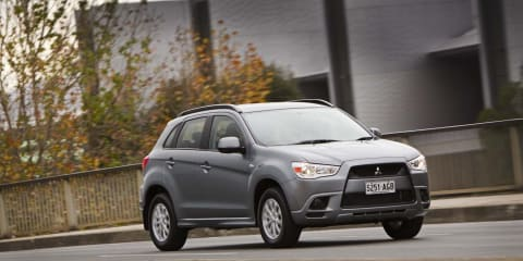2010 Mitsubishi ASX 2WD awarded 5-star ANCAP safety rating