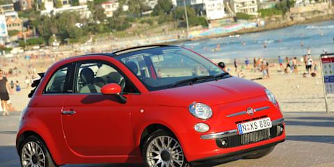 Fiat 500C is Australia's latest topless model