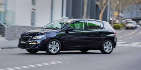 Peugeot 308 Active gets rear-view camera, navigation as standard: $27,990 starting price