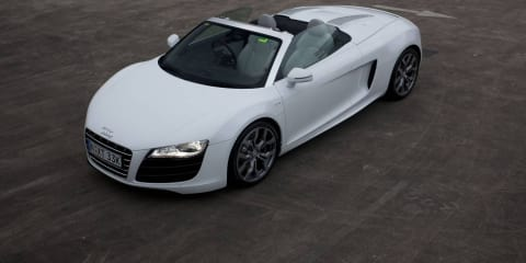 2010 Audi R8 Spyder 5.2FSI V10 Quattro now available in Australia