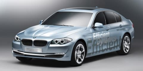 BMW ActiveHybrid 5 Concept at Geneva Motor Show