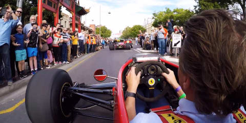 'Peak hour of power' set to take over Adelaide streets for motorsport festival