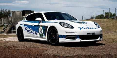 Porsche Panamera police car program extended with new 4S