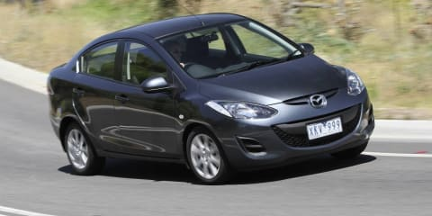 2011 Mazda2 sedan gone as production returns to Japan