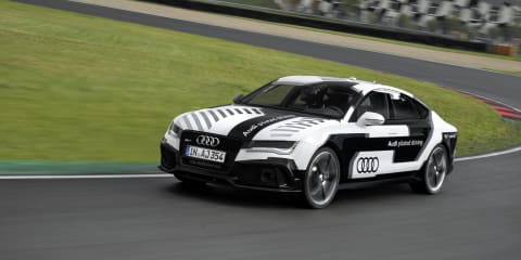 Audi RS7 Piloted Driving Concept Car completes autonomous lap of Hockenheimring