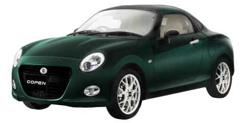 Daihatsu Copen Coupe heading into limited production