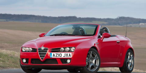 2011 Alfa Romeo Spider 1750 TBi launched in Australia
