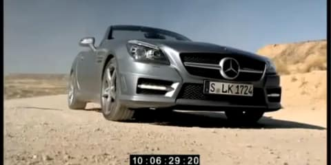 2011 Mercedes-Benz SLK leaked