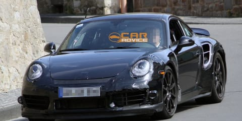 2013 Porsche 911 Turbo revealing spy shots