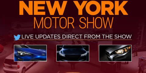 2016 New York motor show:: LIVE feed
