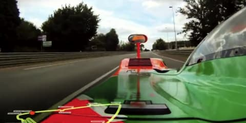Video: Mazda 787b runs again at Le Mans with Johnny Herbert