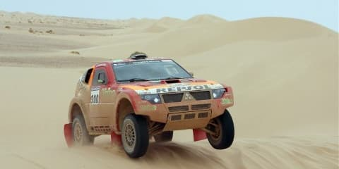 Mitsubishi Wins Dakar Rally... again