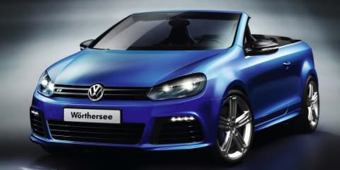 2013 Volkswagen Golf R Cabriolet revealed in racy video