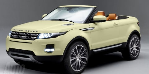 Range Rover Evoque convertible on the way?