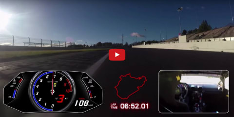 Lamborghini has 'nothing to hide' with Huracan Performante Nurburgring lap time