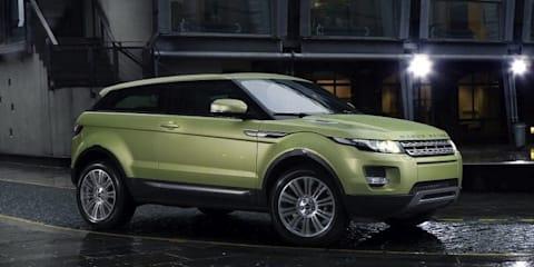 2011 Range Rover Evoque Australian prices announced