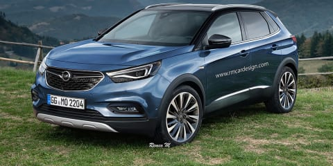 2017 Opel Grandland X rendered:: Upcoming small SUV imagined