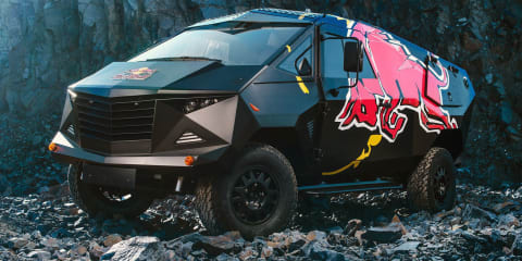 Red Bull reveals latest Defender-based event truck